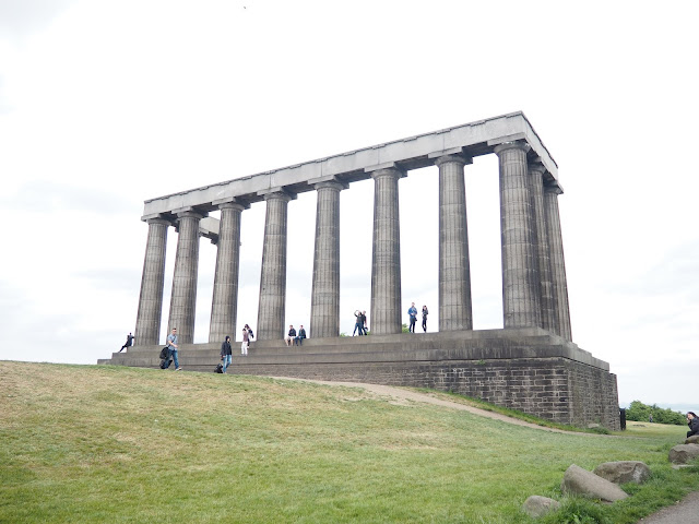 National Monument, Calton Hill, Edinburgh, Scotland