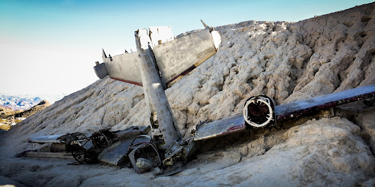 Plane Wreckage (Movie set)
