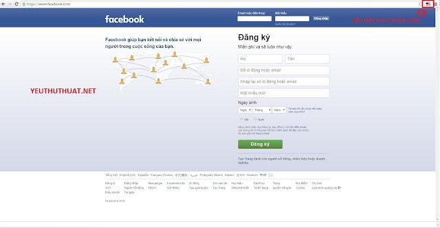 Cách khác phục lỗi không vào được facebook - hưỡng dẫn fake IP để đăng nhập facebook - cách đăng nhập facebook khi bị chặn IP - Thủ Thuật Facebook