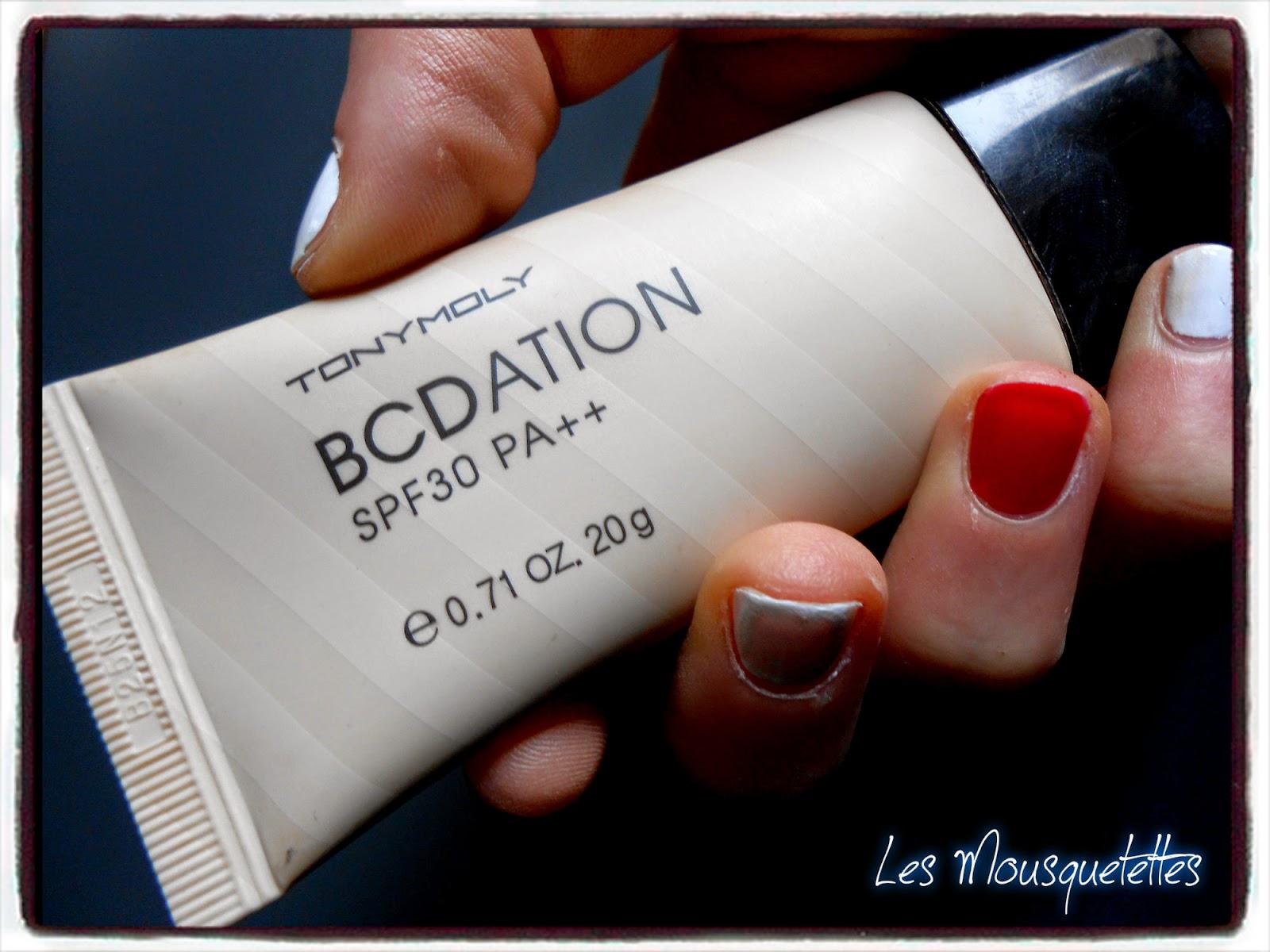 BCDation Tony Moly - Les Mousquetettes©