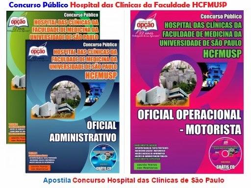 Apostila do Concurso público HC da FMUSP - 2015.