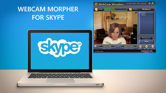 How to Use Webcam Morpher for Skype Video Chat