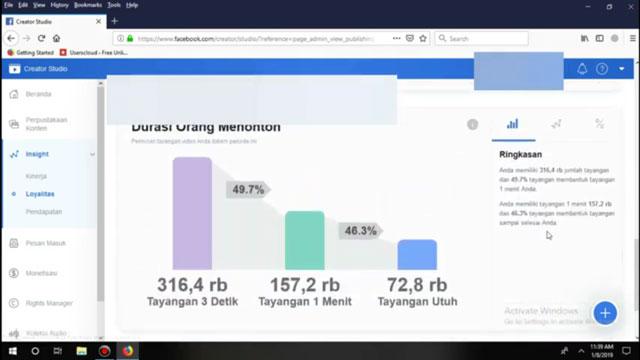 Durasi Orang Menonton Video Anda di Facebook dengan Simple AdBreakers