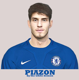 PES 2019 Faces Lucas Piazon by The White Demon