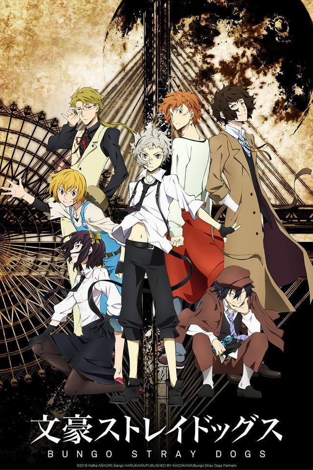 Bungou Stray Dogs (2016) |12/12| |Latino| |Temporada 1| |Mega 1 Link|