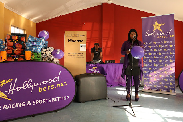 Hollywoodbets donations to the Kwa-Zulu Natal Cerebral Palsy Foundation - CSI - Social Responsibility