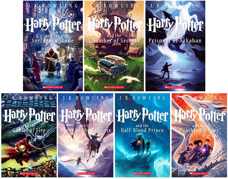 Kazu Kabushi Harry Potter Book Covers