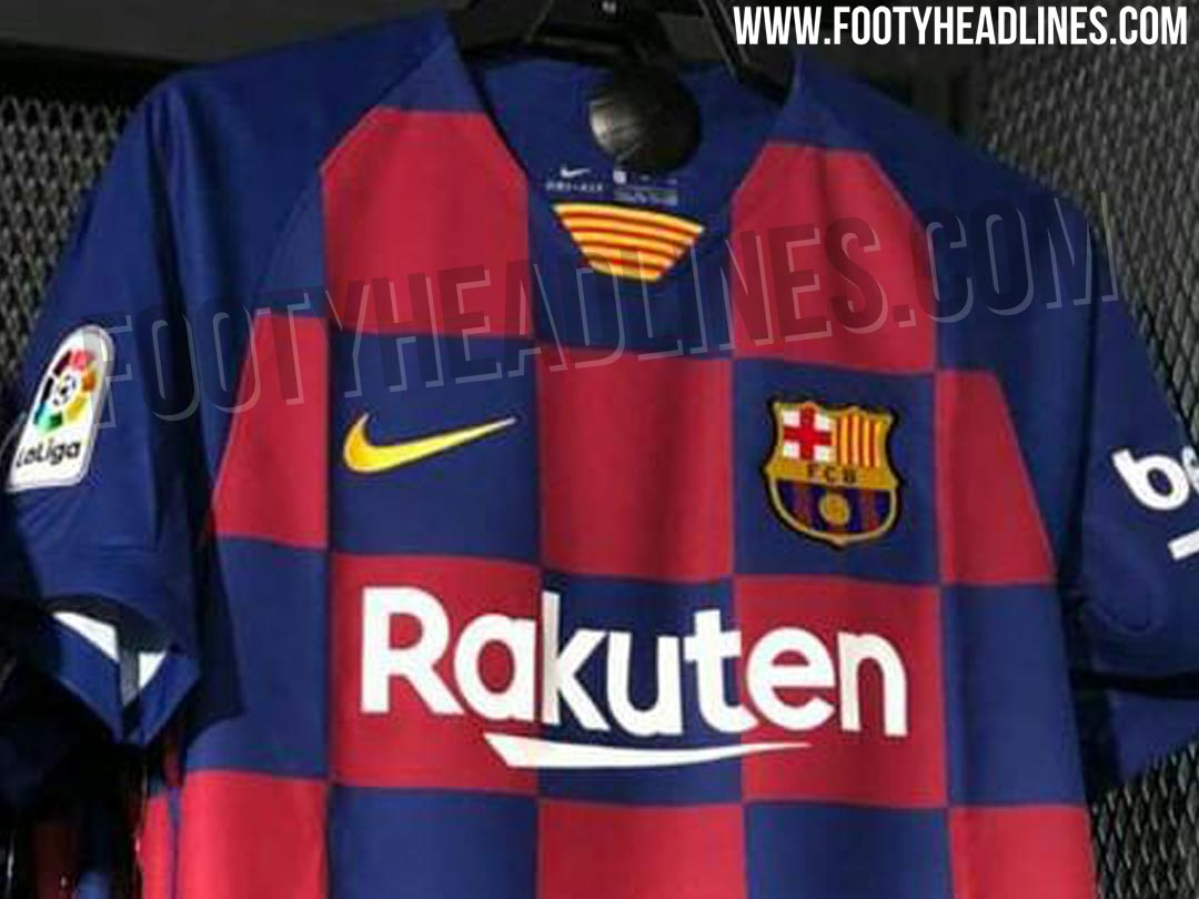 new product 01e84 b986a Nike FC Barcelona & Inter Milan 19-20 Home Kits Leaked In ...
