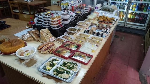 販売用の総菜や弁当