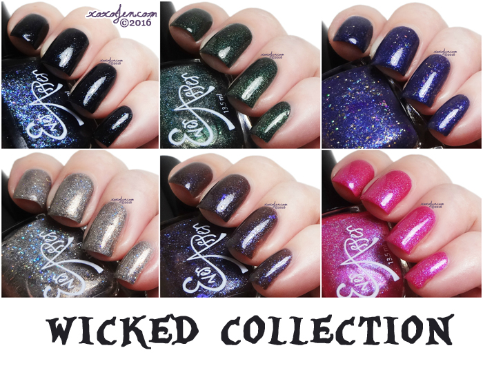 xoxoJen's swatch of Ever After Wicked collection