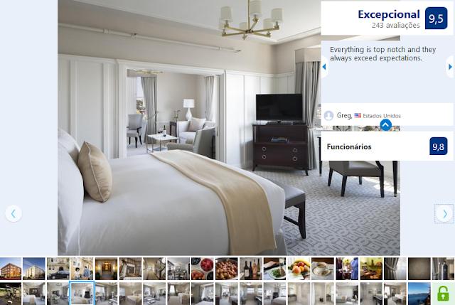 Hotel Drisco para ficar em San Francisco