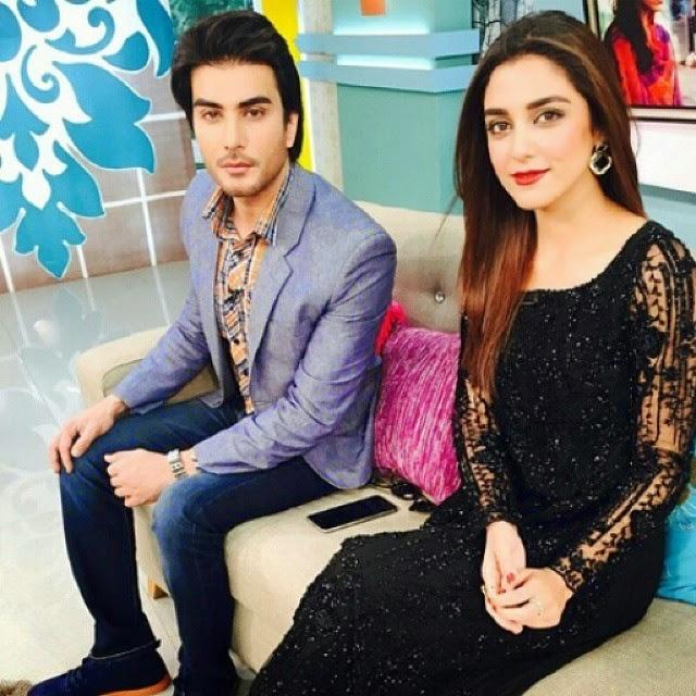 Imran Abbas & Maya Ali