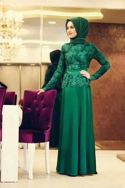 Baju kebaya modern muslim