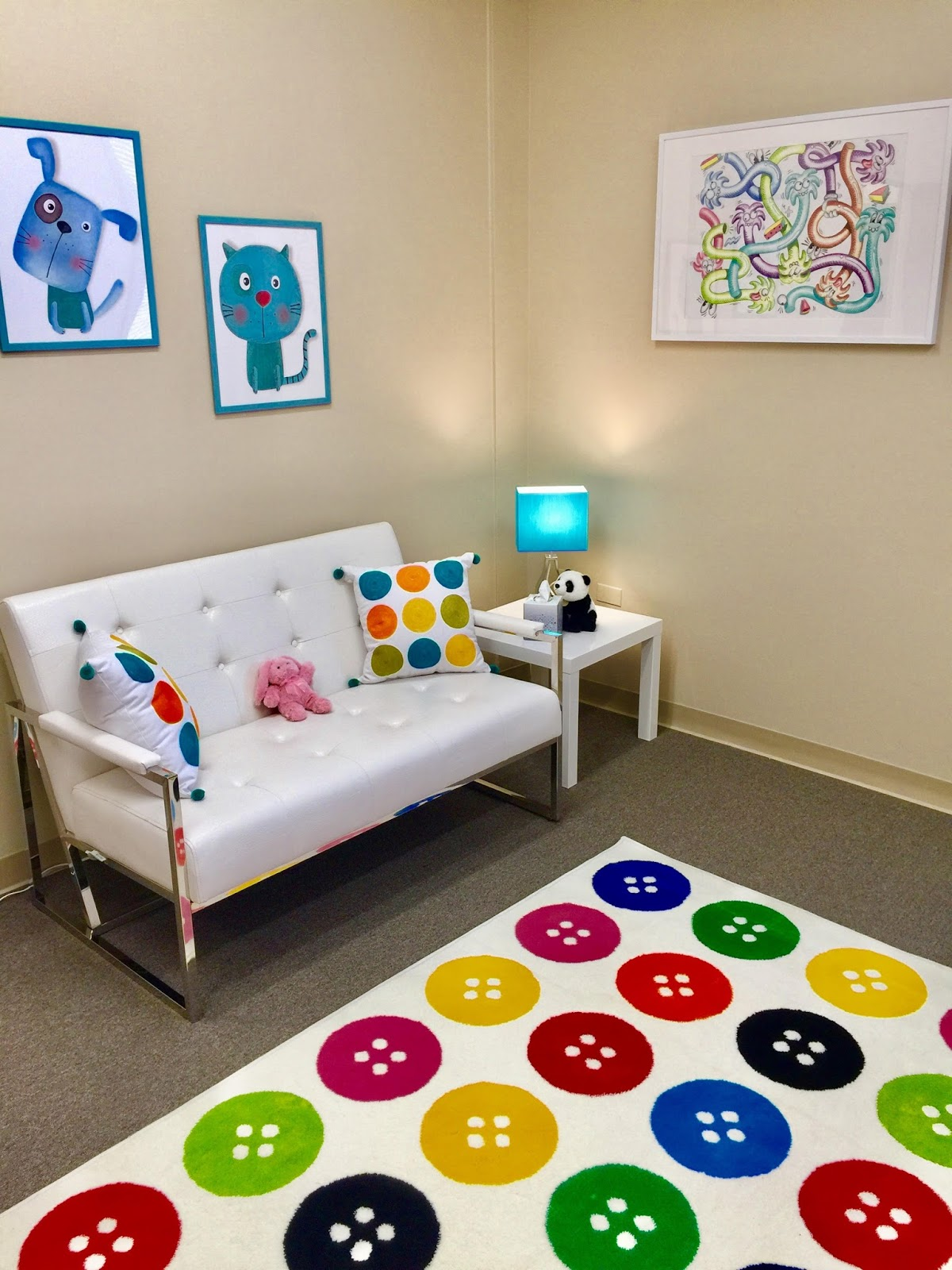 Child therapy chicago naperville for Rooms for kids chicago