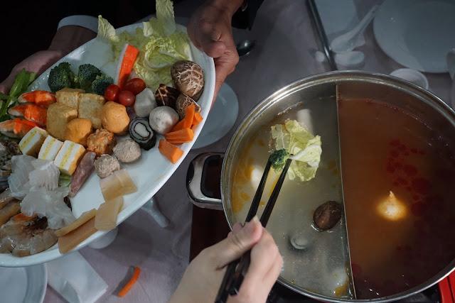 Yee Sang Promo, Steamboat Buffet Dinner