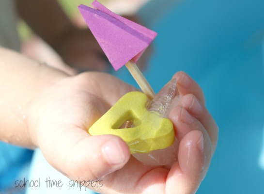 alphabet ice boats activity for toddlers
