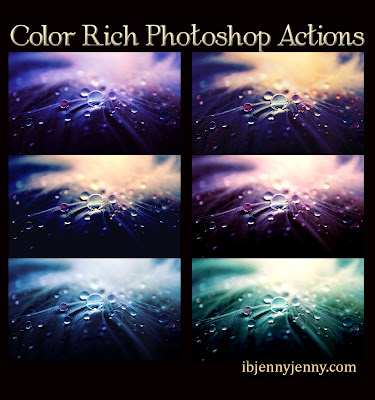 FREE COLOR RICH PHOTOSHOP ACTIONS