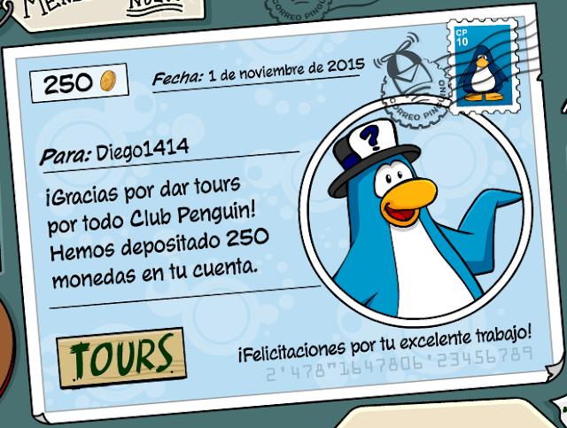 Día de pago en Club Penguin