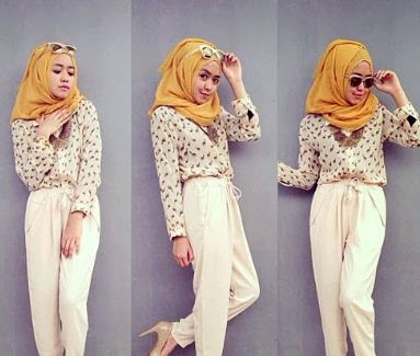 12 Style Hijab Modern Terbaru Untuk Remaja Tutorial Style Hijab