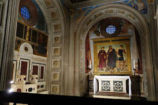 San Miniato Florence Italy Gregorian Chant chapel