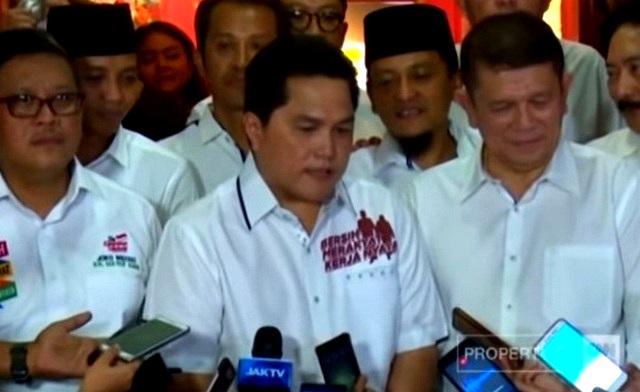 Bawaslu Bakal Periksa Erick Tohir Terkait Kasus Iklan Rekening Jokowi