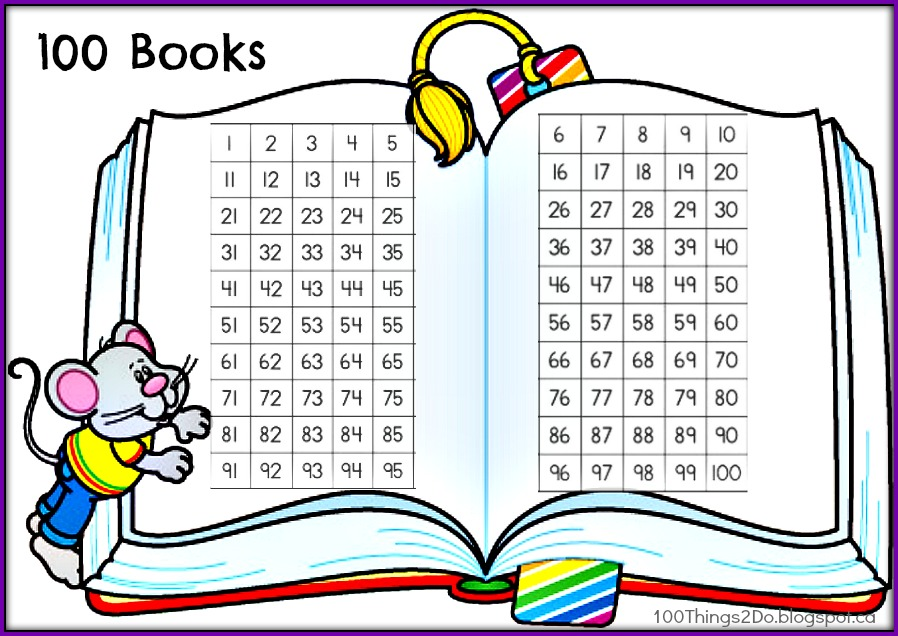 100 Books Challenge - 100 Things 2 Do