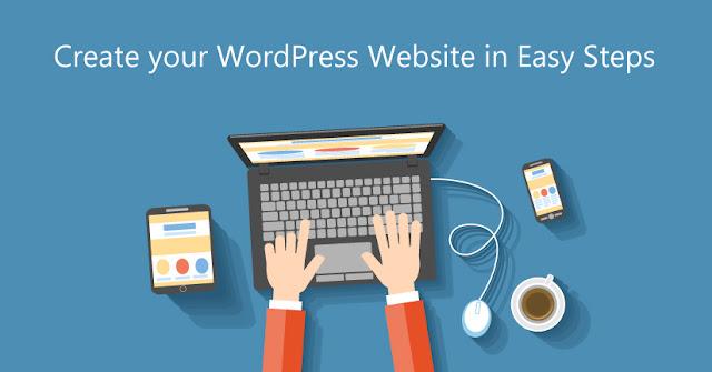 Untuk menubuhkan sebuah laman web, anda hanya perlu melakukan kedua-dua perkara ini
