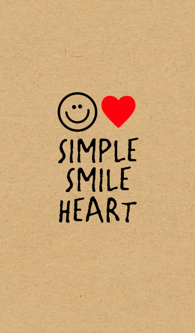 -SIMPLE HEART SMILE-