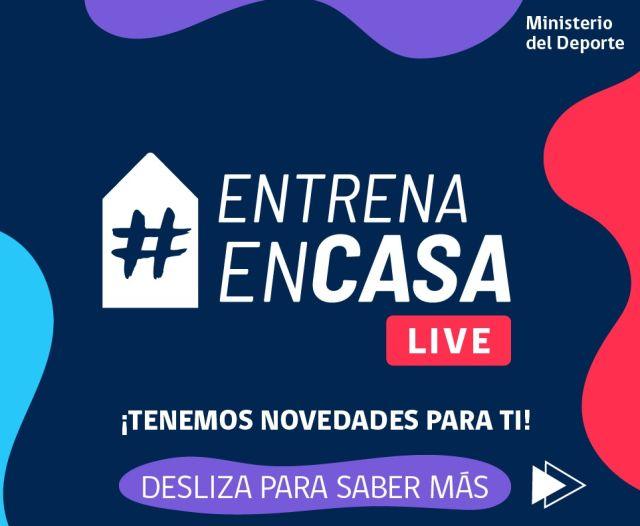 Campaña #EntrenaEnCasa de Mindep suma más clases en vivo