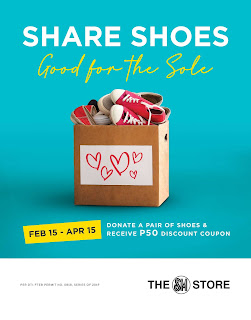 SHARE SHOES AT THE SM STORE