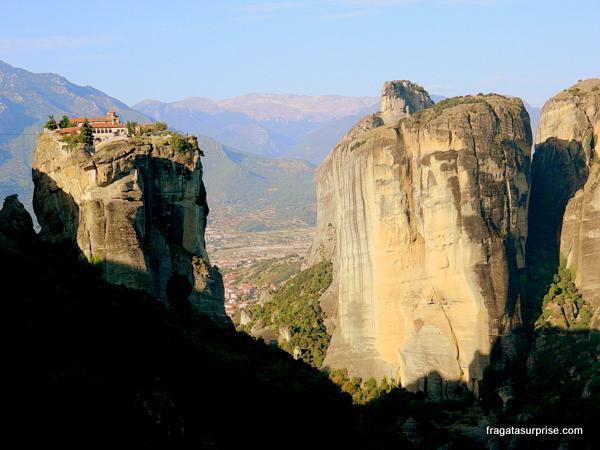 Mosteiros de Agia Triada (Santíssima Trindade), Meteora, Grécia