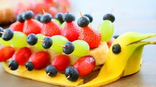 Art In Banana Dolphin Peacocks | Fruit Carving Garnish | Food Decoration | Party Garnishing