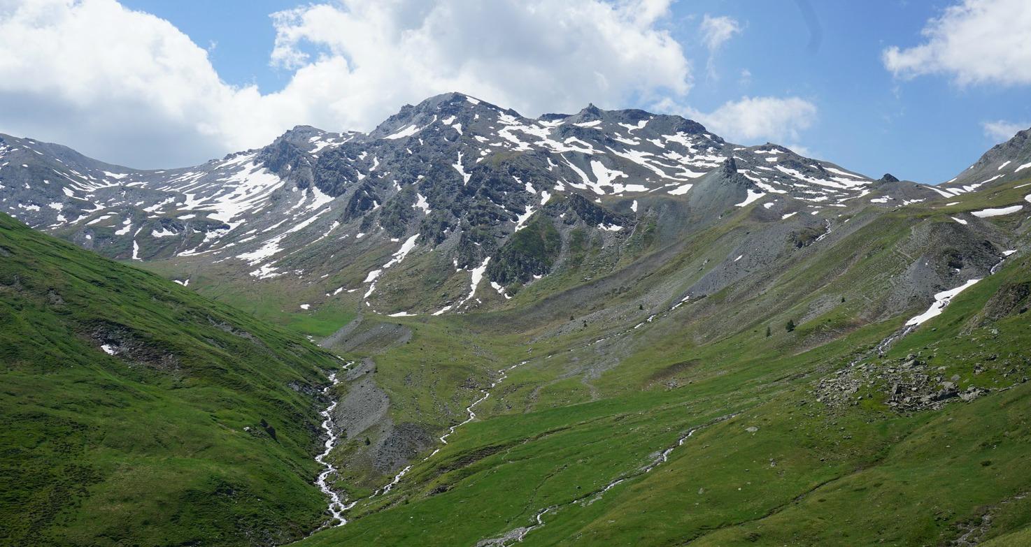 View towards Col de Peas