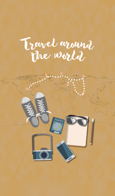 We Travel around the world
