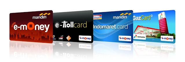 Ilustrasi eMoney yang dapat digunakan transaksi non tunai. Foto : Bank Mandiri.