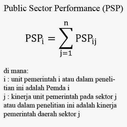 Public Sector Performance (PSP)