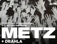 Conciertos de Metz y Drahla en España