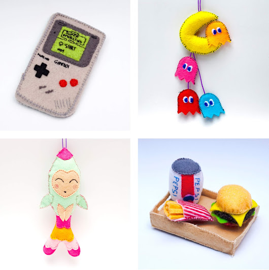 Gameboy + Pac Man + Fish Girl + Fast Food