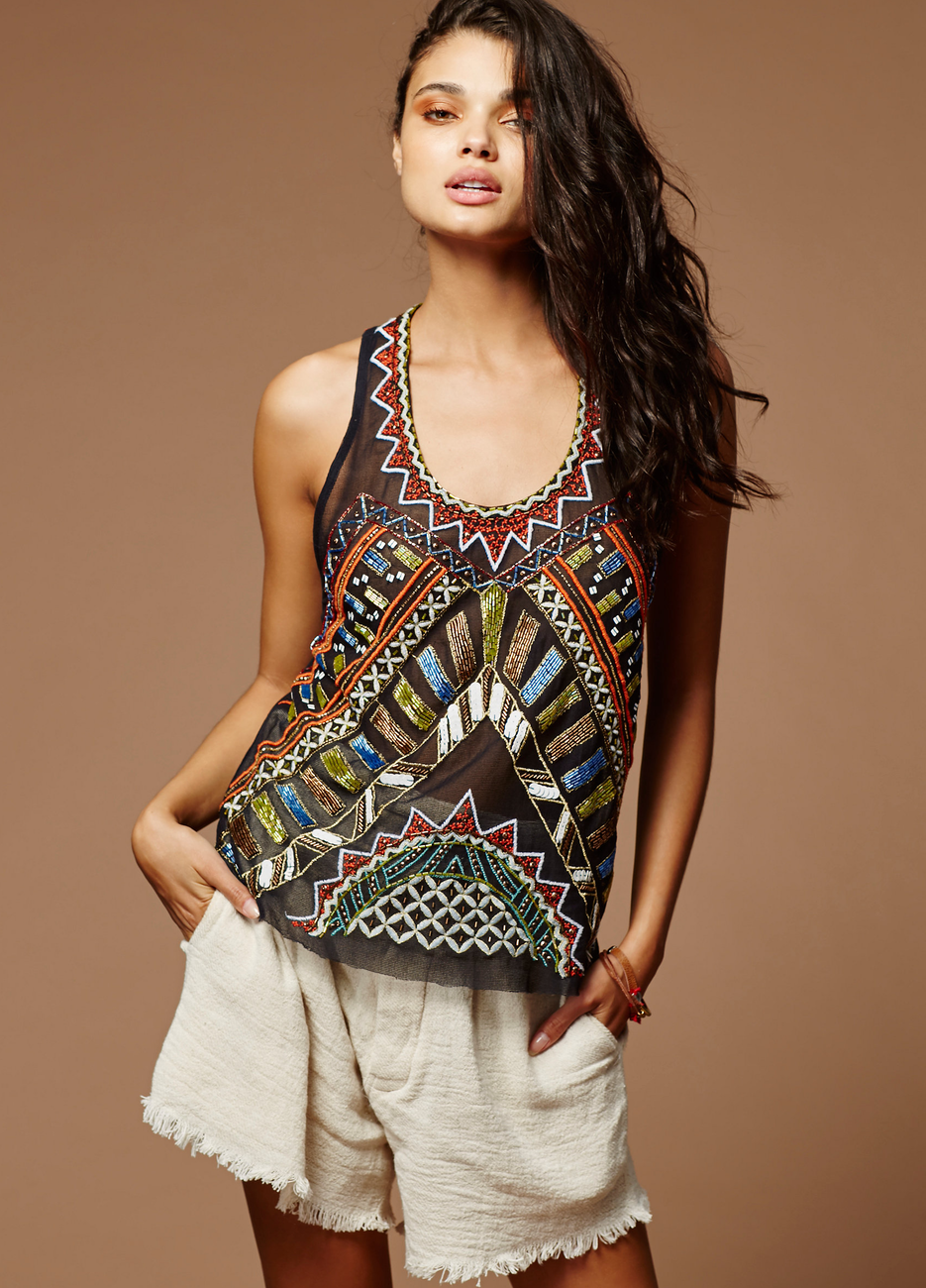 Free People Make A Splash Tank