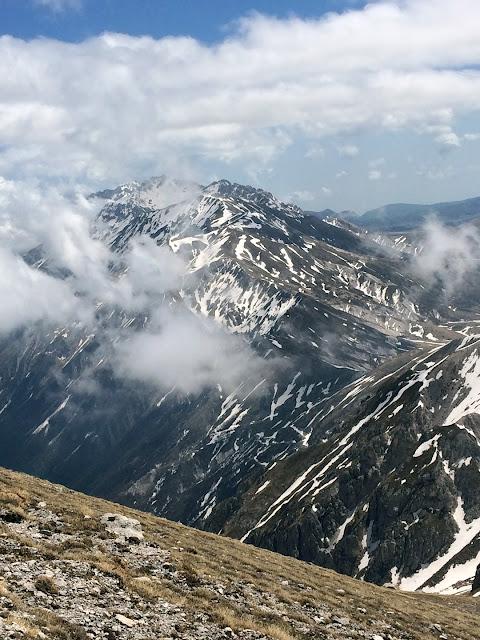 Monte Brancastello e monte Prena