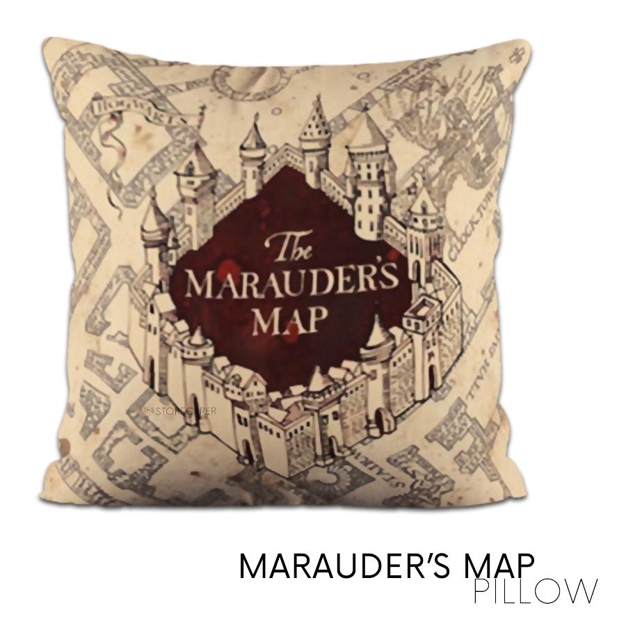 bantal marauder map