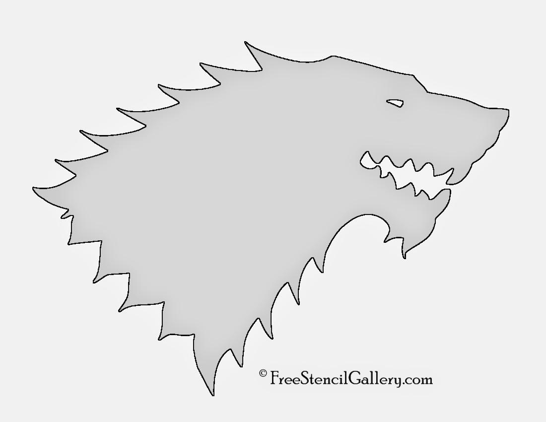 Stark Game Of Thrones Sigil | www.pixshark.com - Images ...
