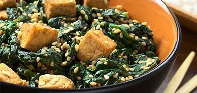 Sesame and tofu