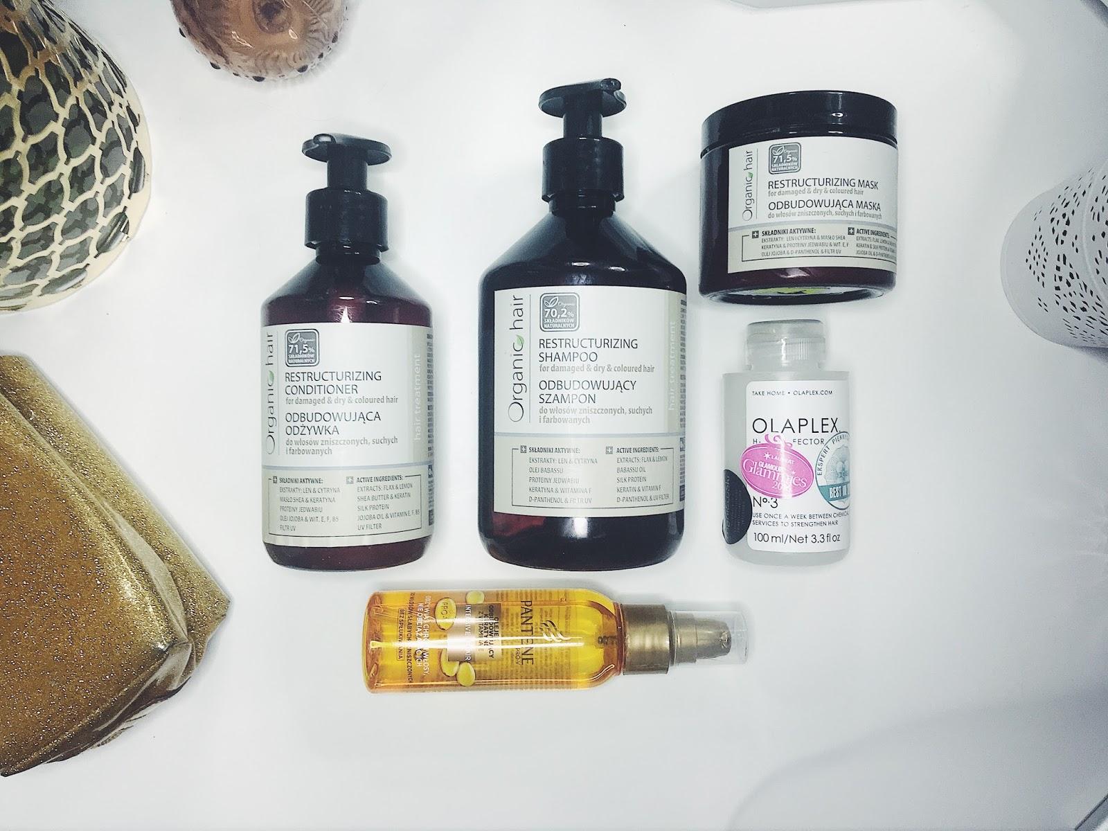 Top 5 Produktów do pielęgnacji włosów.