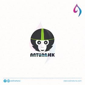 Desain Logo Natuna Jek