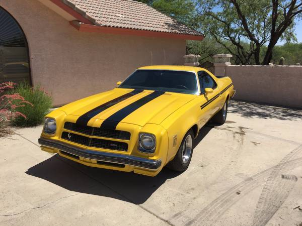 1977 Chevy El Camino SS for Sale