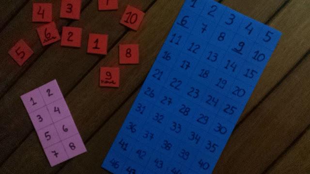 Números Bingo Divertido 52 atitudes