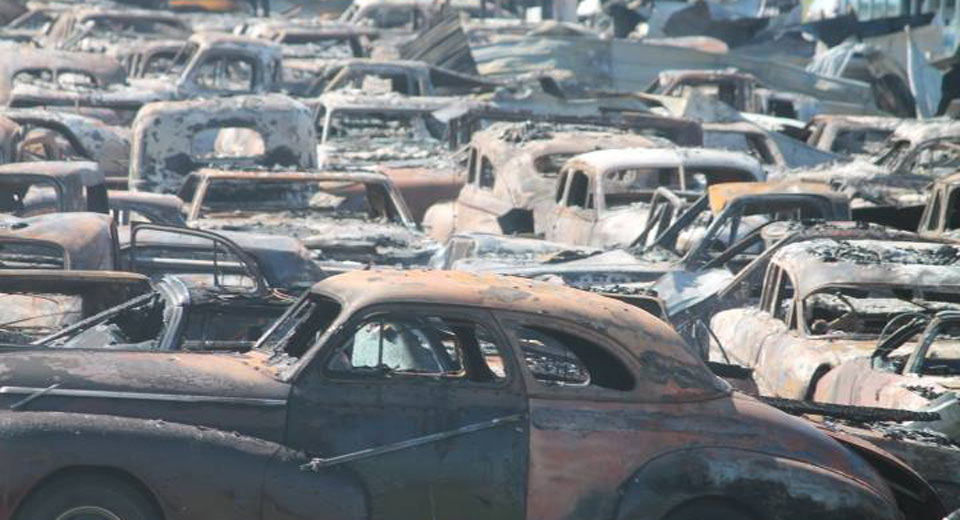 Over Classic Cars Destroyed After Illinois Dealer Fire