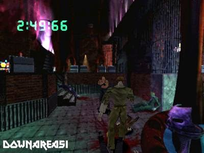 Countdown Vampires PSX Game Screenshot