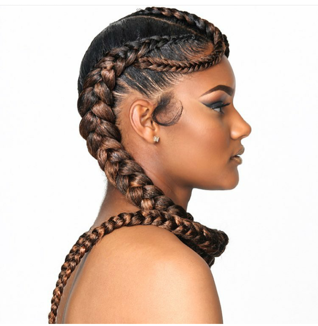 10 Beautiful Ways To Style Cornrows Braids 2018 Blogit